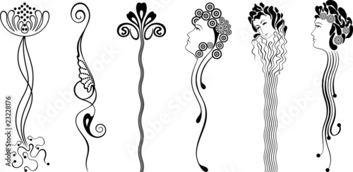 Ornament Art Nouveau Stock Image And Royalty Free Vector Files On