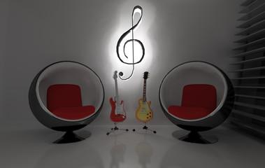 Sala musica di notte