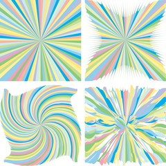colorful burst background collection