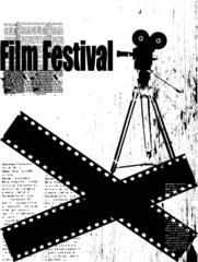vector film festival poster