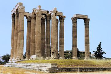 Athènes et le temple Olympieion