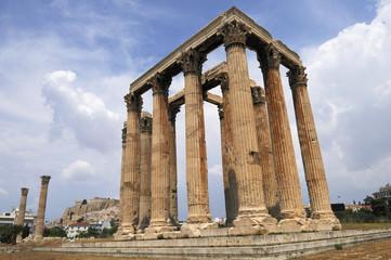 temple olympieion à Athènes