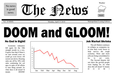 Doom and Gloom headline