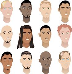 Mens Faces 3