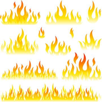 Vector fire element