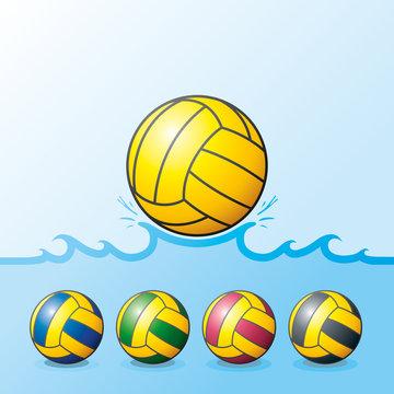 Waterpolo balls