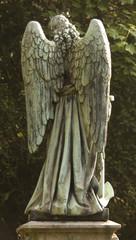 Engel Rückansicht