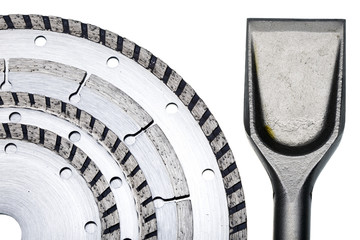 Circular Saw blades and nozzle for the puncher