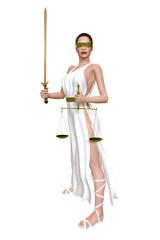 Justitia Waage Schwert