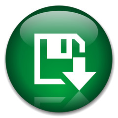 DOWNLOAD web button (online free internet vector)