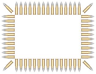 Frame of bullets.