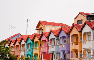 Colourful Townhouse