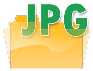 "Folder Icon ""JPG"""