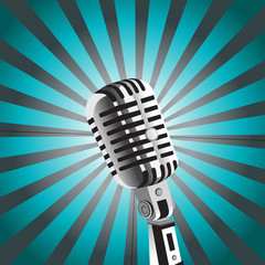 vector mic background