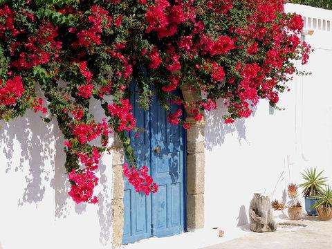Dorfidylle in Griechenland