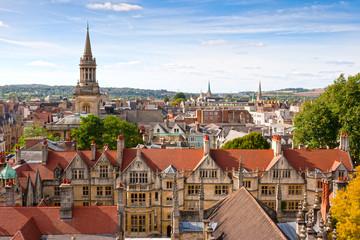 Above Oxford. England