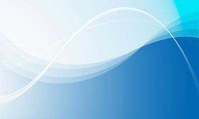 薄い青から濃紺へのグラデーションと線