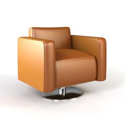 Modern armchair.
