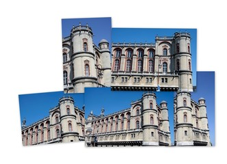 Vues du Château de Saint Germain en Laye
