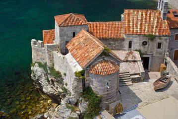 Budva fortress, Mediterranean Montenegro