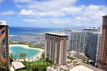 Waikiki Beach. Oahu, Hawaii