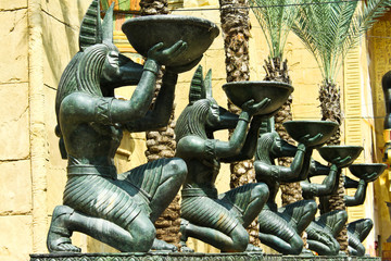 Printed roller blinds Egypt god of egypt