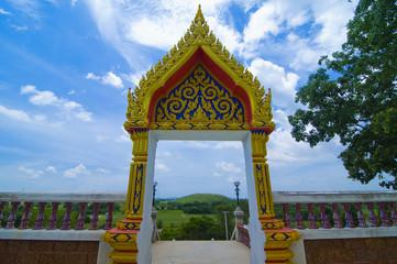 Khao Nok Kha Chip temple,Hua Hin Thailand
