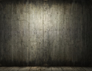 Grungy conrete room background