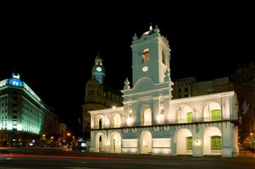 Cabildo, old colonial building Buenos Aires, Argentina.