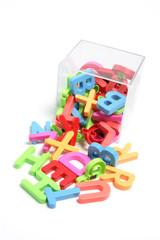 Plastic Alphabets