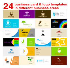 24 ready businesscards traditional