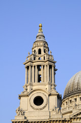 architectural details of Saint Paul's Cathedral