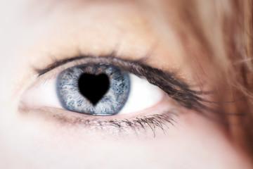 Auge - Herz