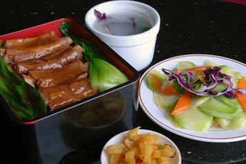 china delicious food-pork ribs and rice