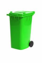 empty recycling bin