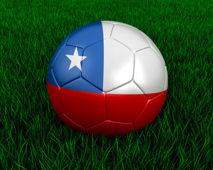 Chilean soccer ball