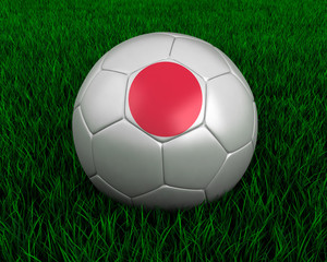 Japanese soccer ball