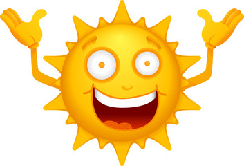 Cartoon Sun Characters 4