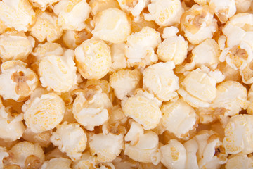full screen sugared popcorn