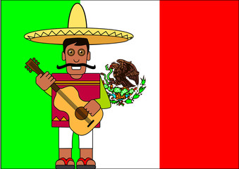Mexicain_Drapeau
