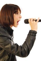 Cantante in sala prova