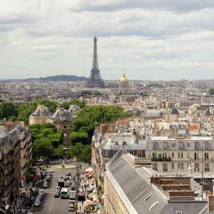 Vue de Paris depuis le Panthéon