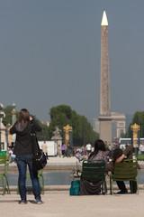 der Obelisk von Luxor