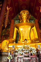 golden principle  buddha image