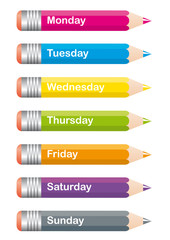 Crayons Semaine_GB