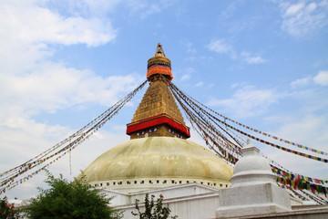 ネパールのボダナートのストゥーパ