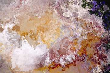 Abstract rusty grunge wall background
