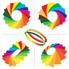 Color guide palette backgrounds