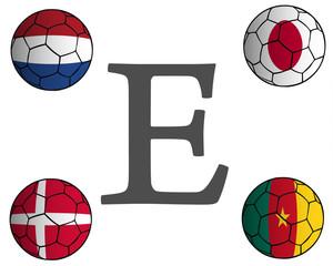 Grupo E Mundial Fútbol