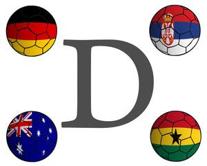 Grupo D Mundial Fútbol